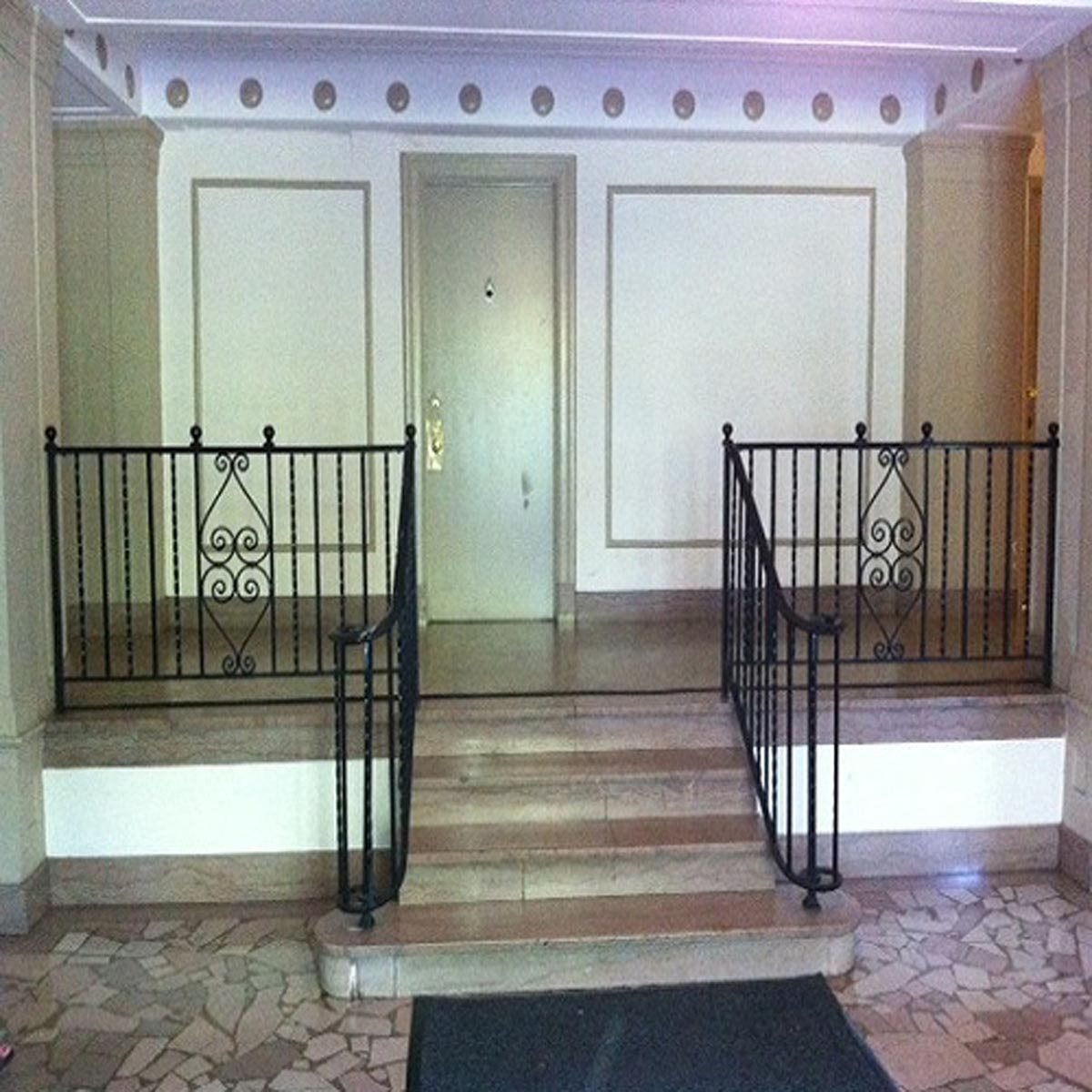 Staircase Entrance at Pershing House