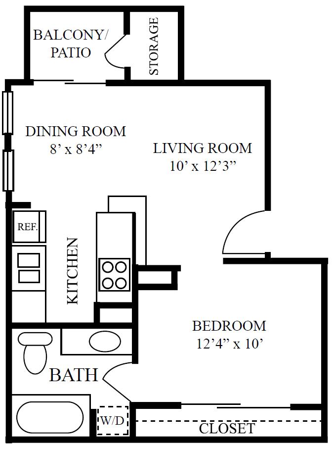 1 bedroom apartments near domain austin