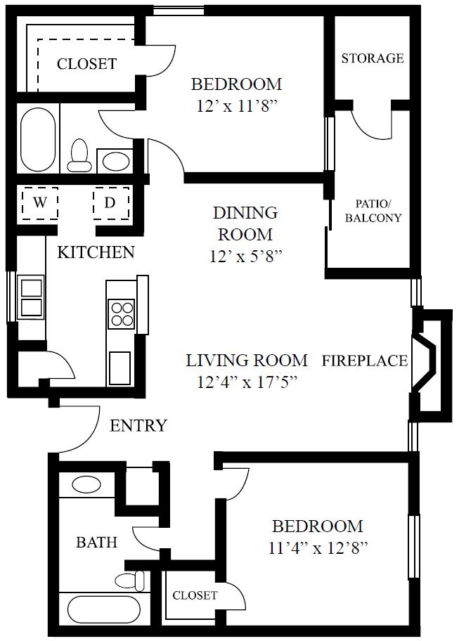 two bedroom apartments near domain austin