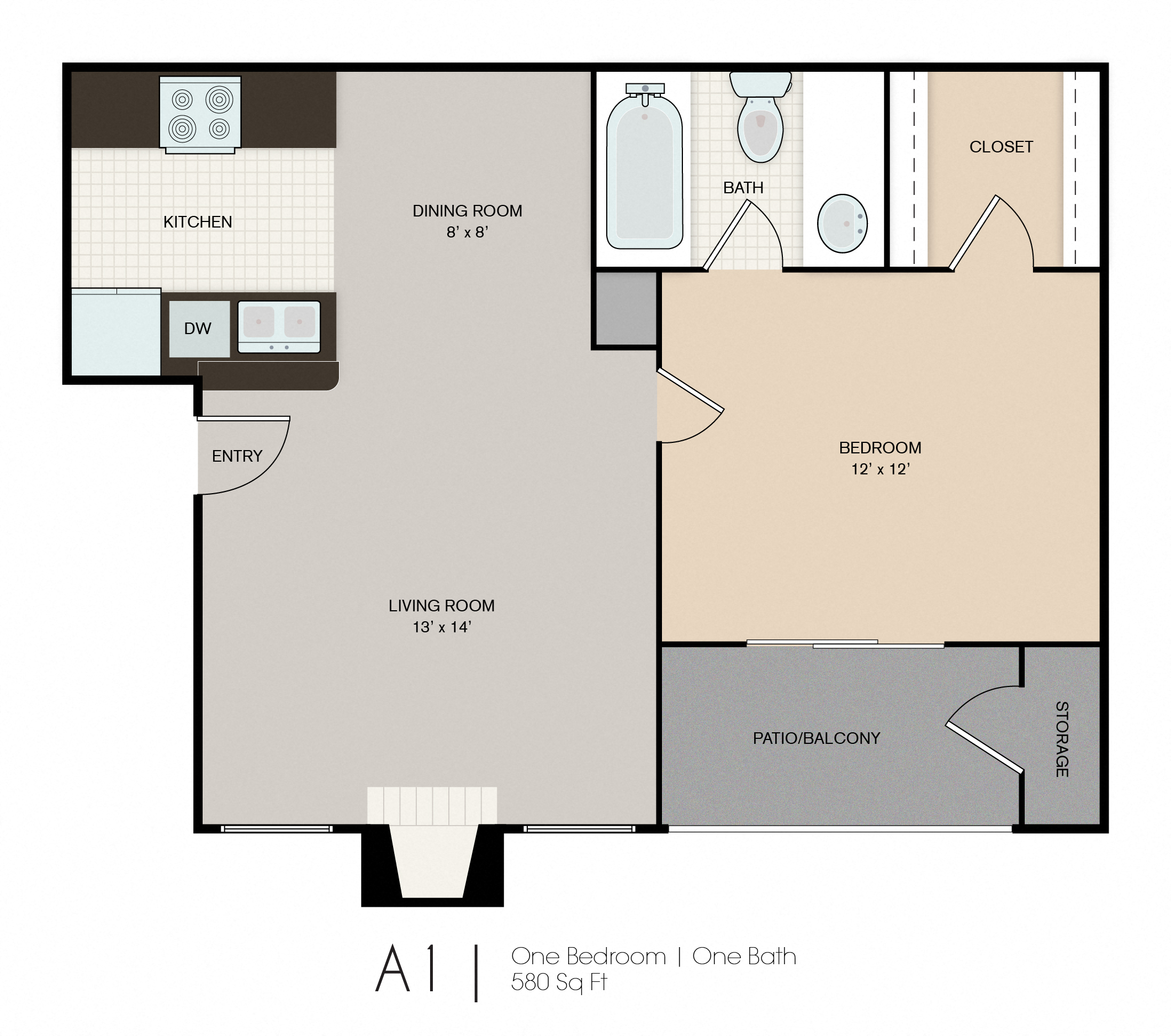 1, 2 & 3-Bedroom Apartments in Las Cruces | Park Place ...