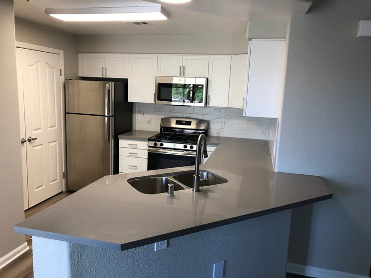 updated kitchen counter tops