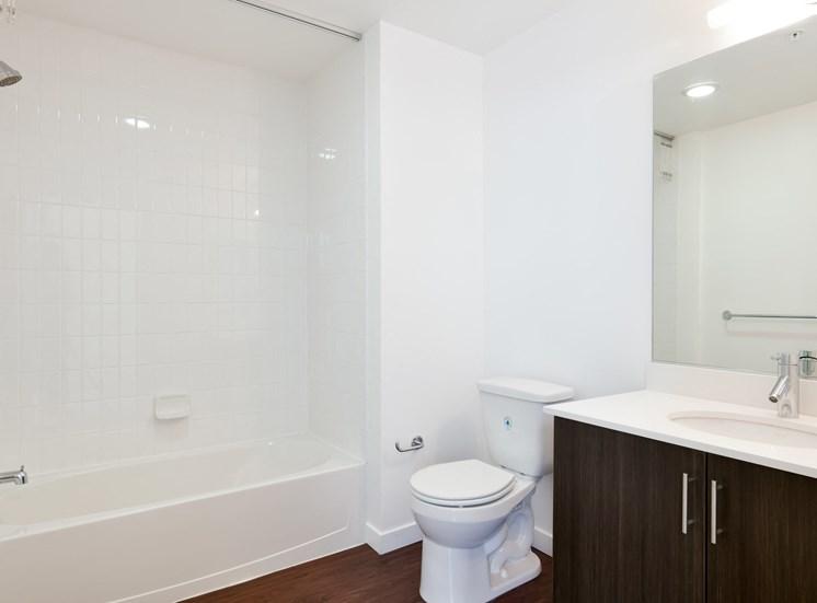 Large Tub In Bathroom at Venn On Market, San Francisco, 94102