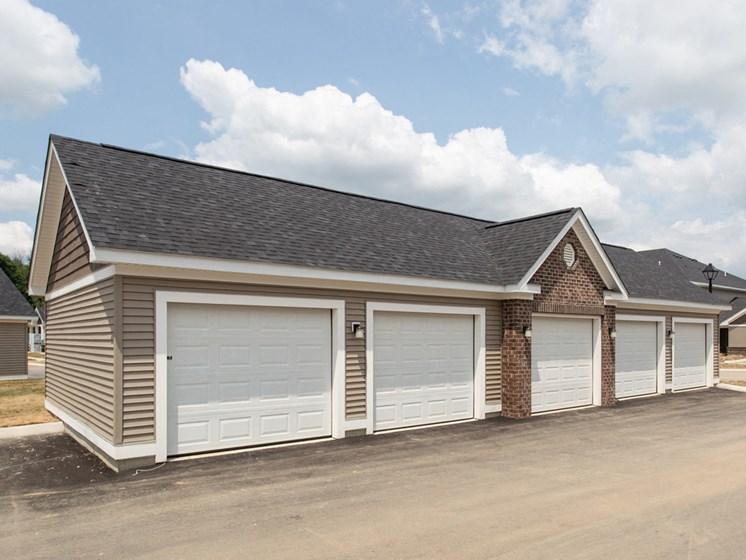 Detached Garages Available!