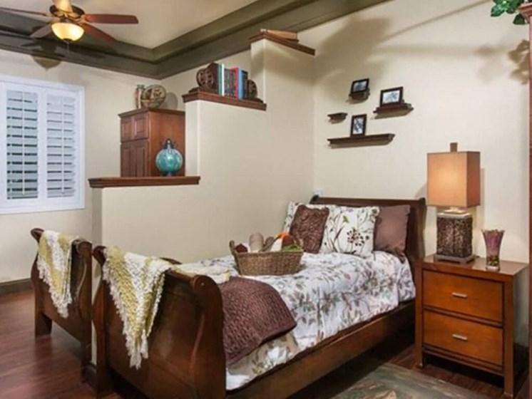 Bedroom With Adequate Storage at Legacies Memory Care at San Martin, Las Vegas, 89113