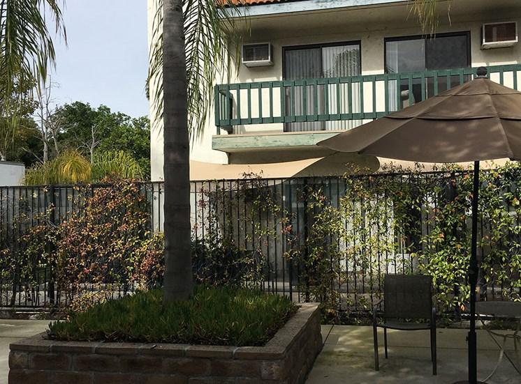 Outdoor Patio at Alta Vista Senior Living, Vista, 92083