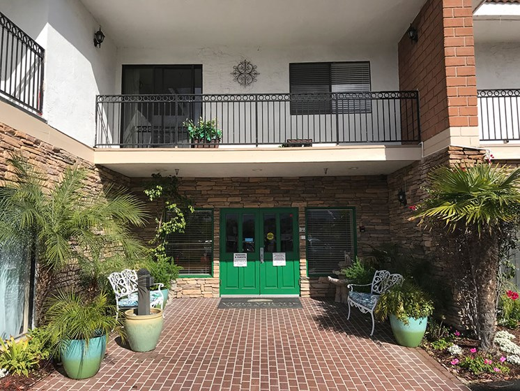 Property Entrance at Alta Vista Senior Living, 92083