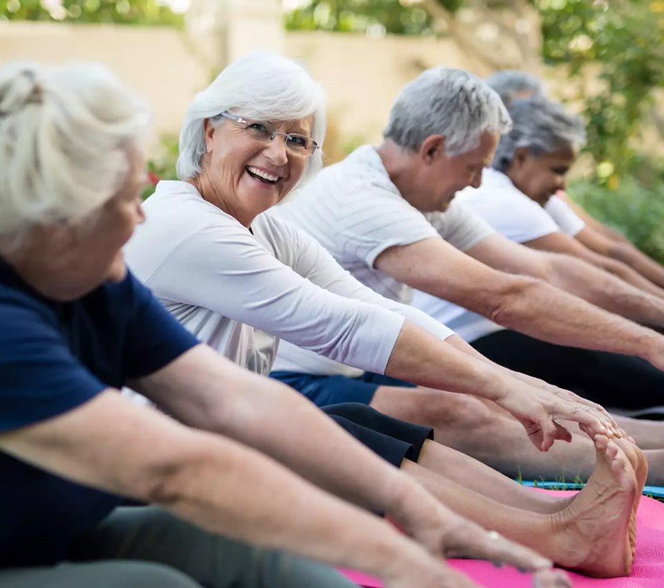 Health and Fitness Center at Alta Vista Senior Living, California