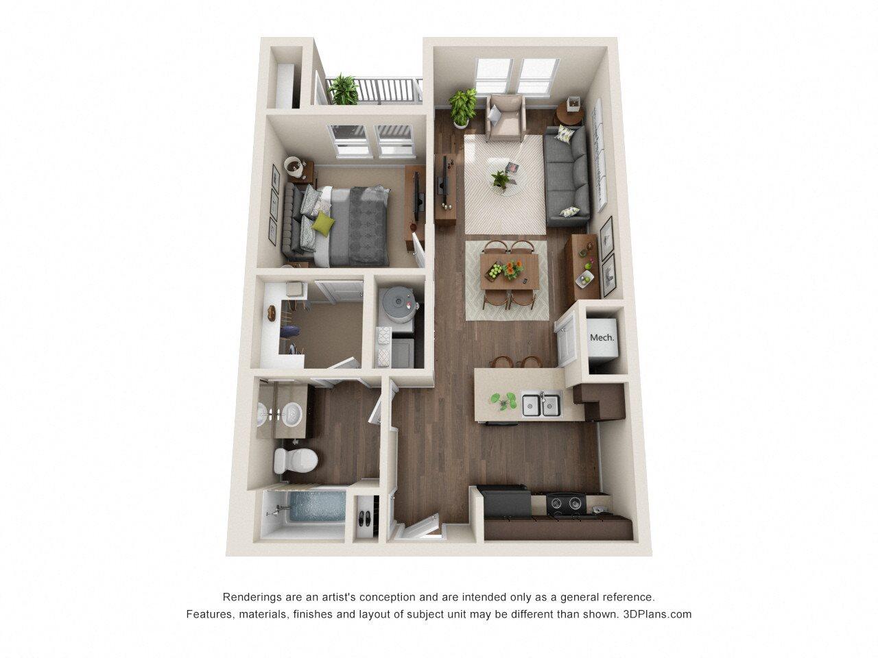 1 2 3 bedroom apartments in san antonio tx rio lofts - One bedroom apartments san antonio ...