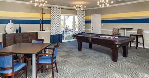 Play a round of pool with family and friends at The Park at Laurel Oaks