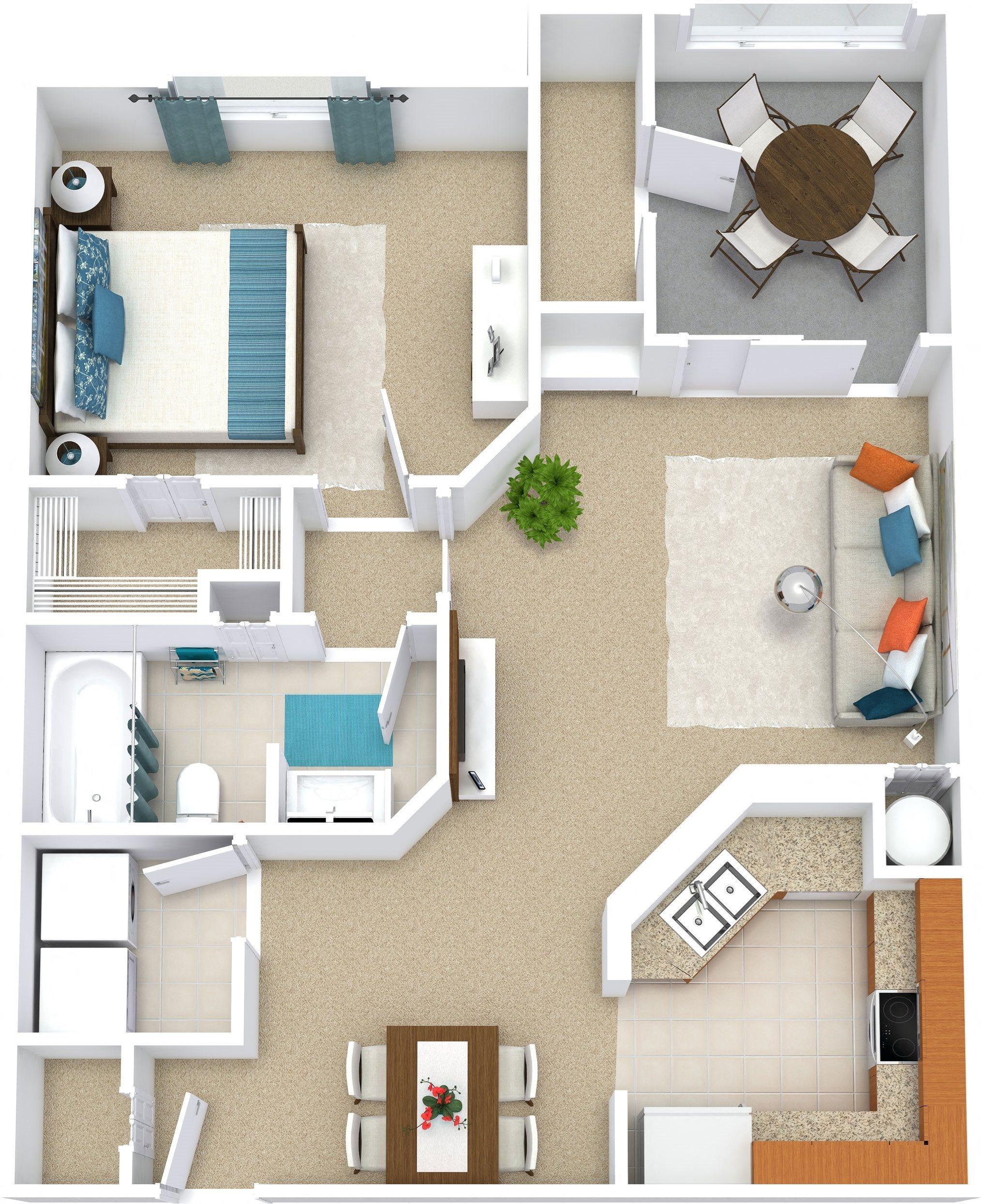 La Paloma Apartments: Floor Plans Of Mission Club Apartments In Orlando, FL