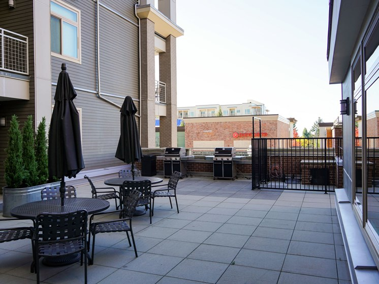 Courtyard Patio With Ample Sitting at Clearview 100, Washington, 98466