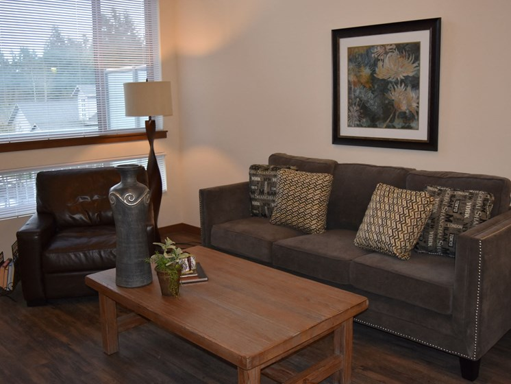 Spacious Living Room at Latitude 47, University Place, 98466