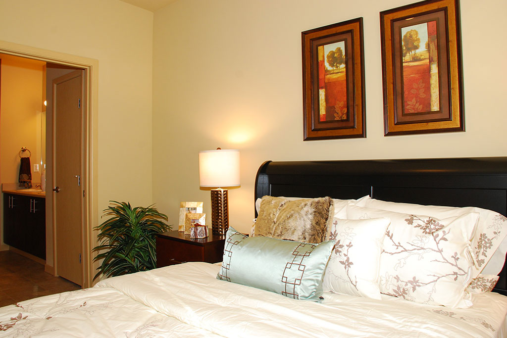 Cozy Bedroom at Yauger Park Villas, Olympia, WA, 98502