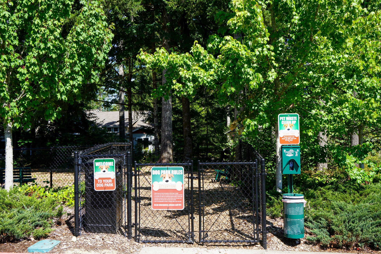 Dog Park at Yauger Park Villas, Olympia, WA