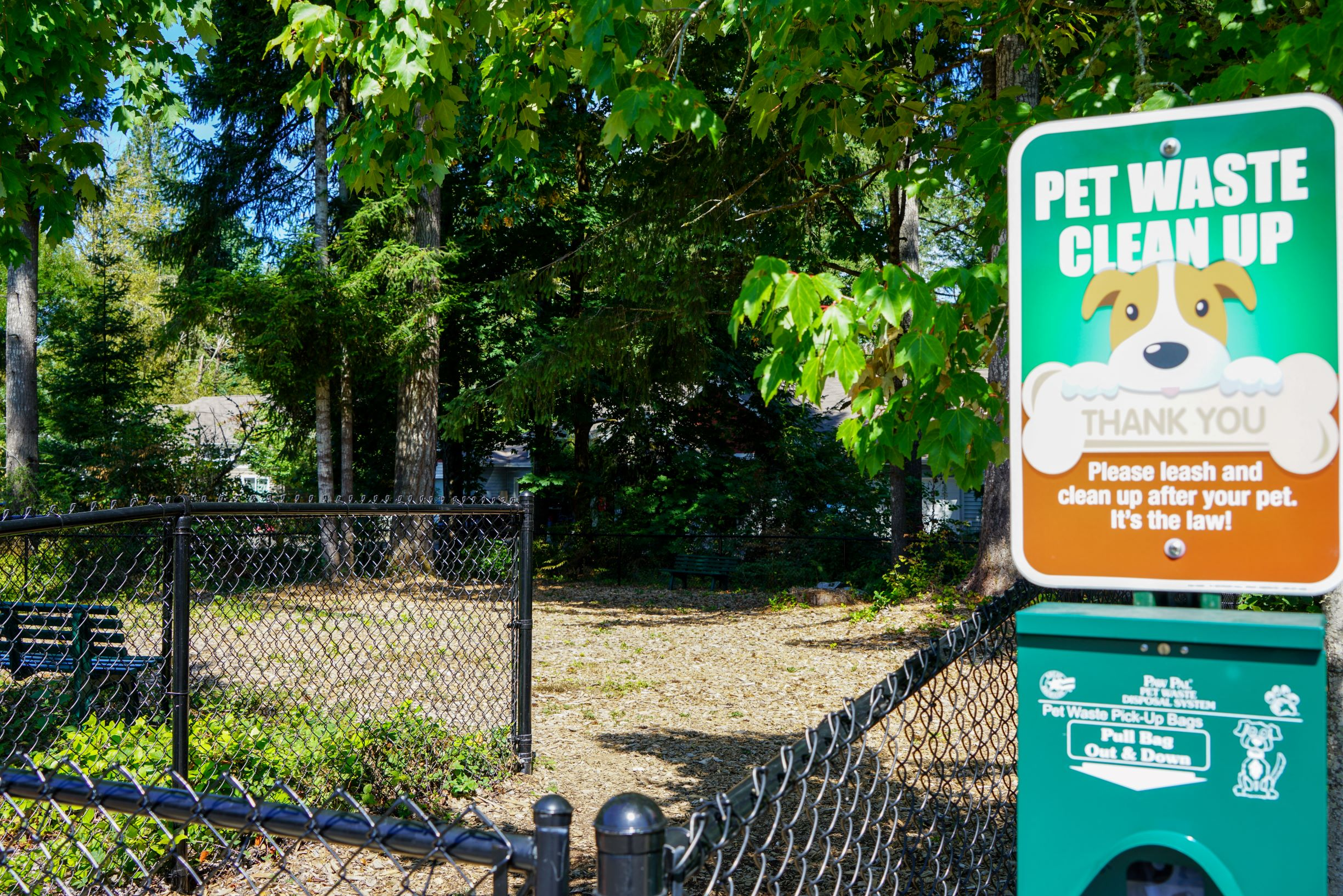 Dog Playing Area at Yauger Park Villas, Olympia, 98502