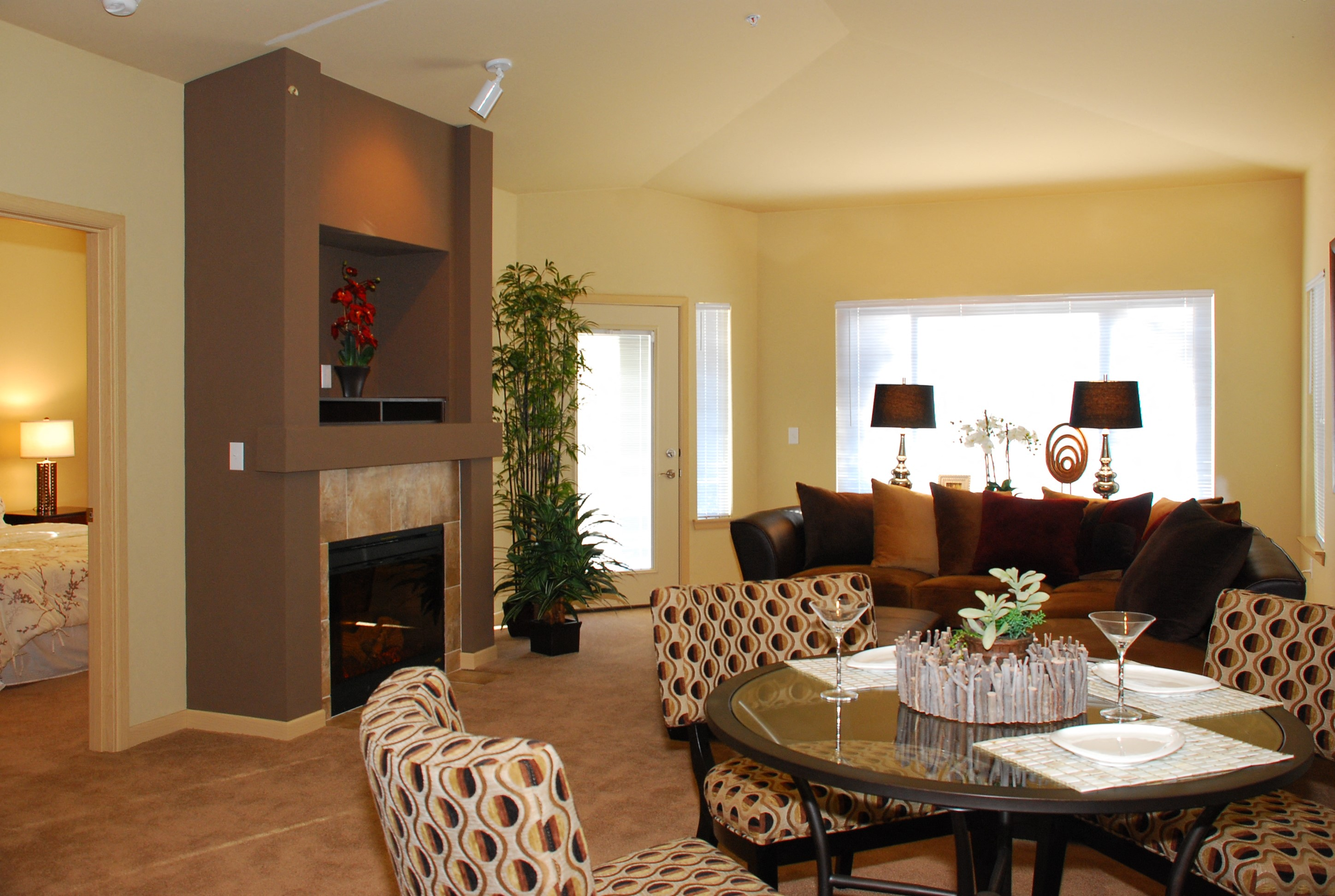 Charming Living Spaces at Yauger Park Villas, Olympia
