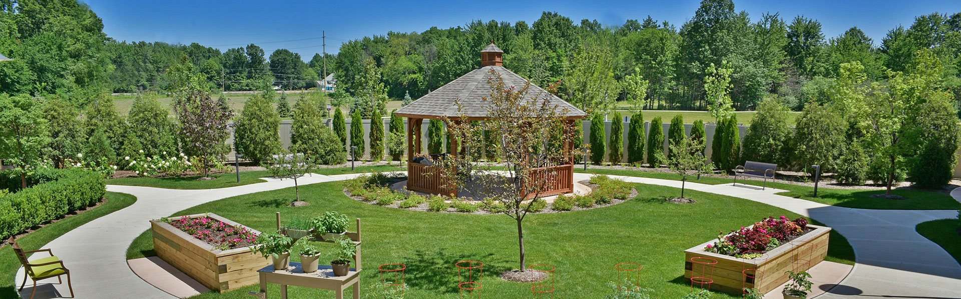 Magnificent Courtyard Garden at Rose Senior Living – Avon, Avon, 44011