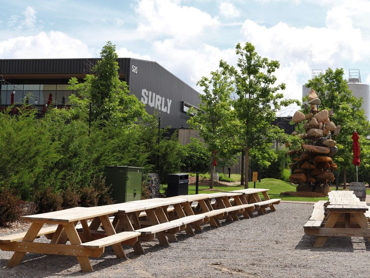 Surly Brewery Patio