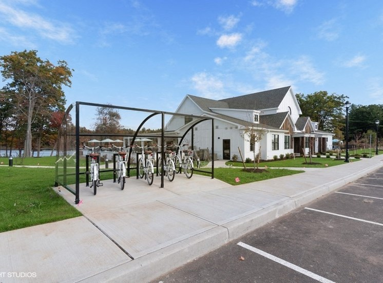 Grab a Bike with Bikeshare at The Preserve at Great Pond Apartments in Windsor, CT