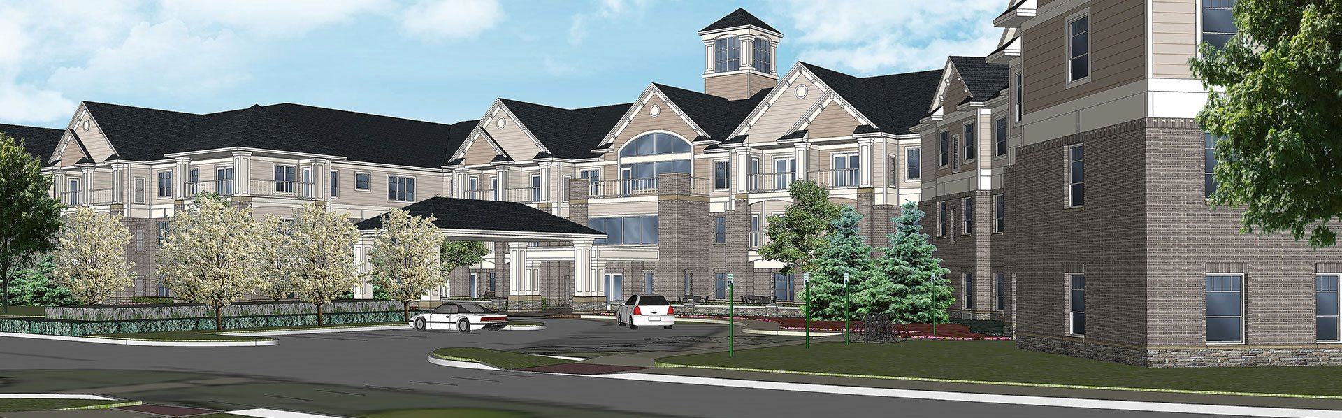 One & Two Bedroom Apartment Homes at Rose Senior Living – Beachwood, Beachwood, Ohio
