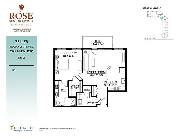 Studio, 1 & 2 Bedroom Senior Apartments | Rose Senior Living ... on walker house plan, sullivan house plan, taylor house plan, clark house plan, wood house plan, keller house plan, parker house plan, mason house plan, gibson house plan, kennedy house plan, nelson house plan, weber house plan, morgan house plan, austin house plan,
