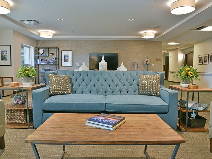 Lounge Area at Rose Senior Living – Carmel, Carmel, 46032