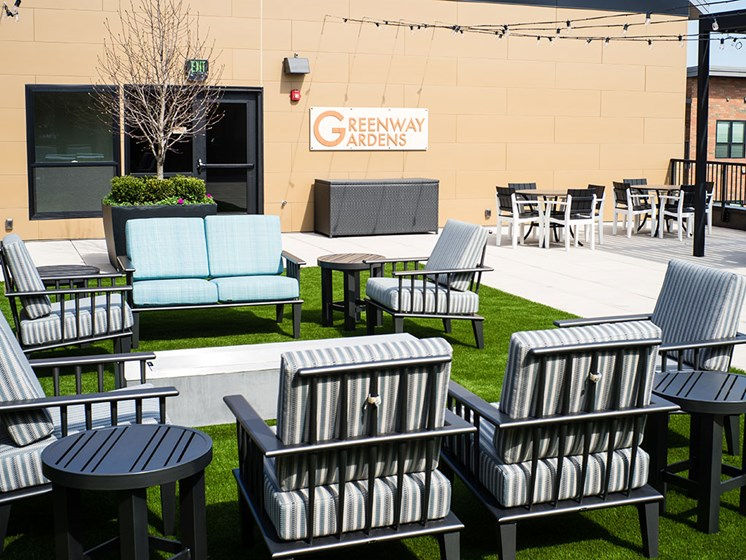 Outdoor Space at Rose Senior Living – Carmel, Carmel, 46032