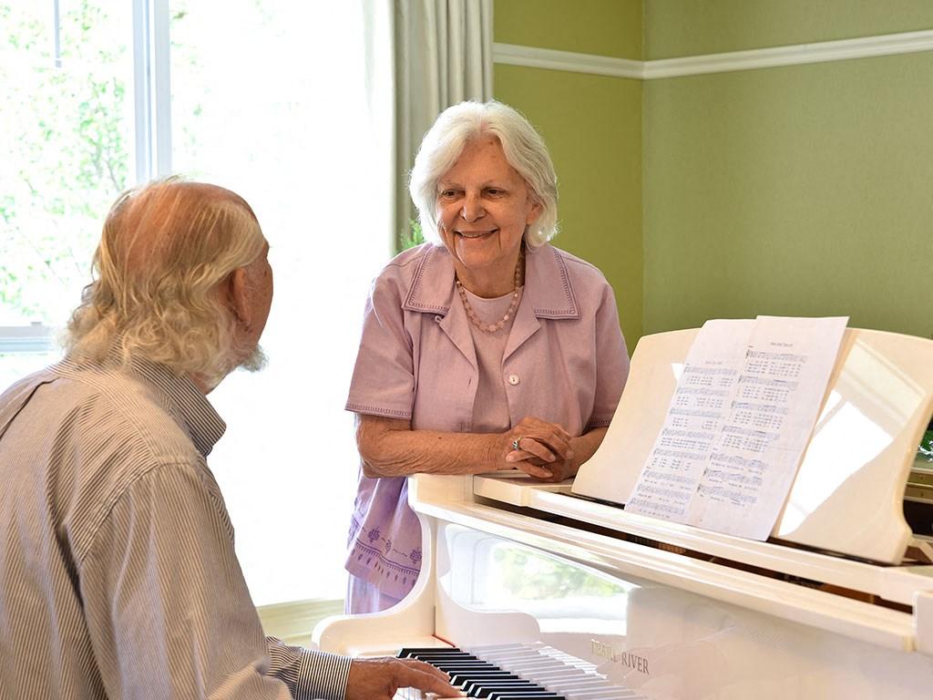 Piano at Rose Senior Living – Clinton Township, Michigan
