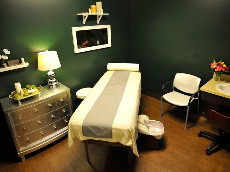 Massage Room at Rose Senior Living – Clinton Township, Clinton Township