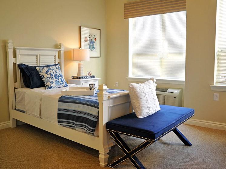 Memory Care Model Bedroom at Rose Senior Living – Clinton Township, Clinton Township, MI, 48038