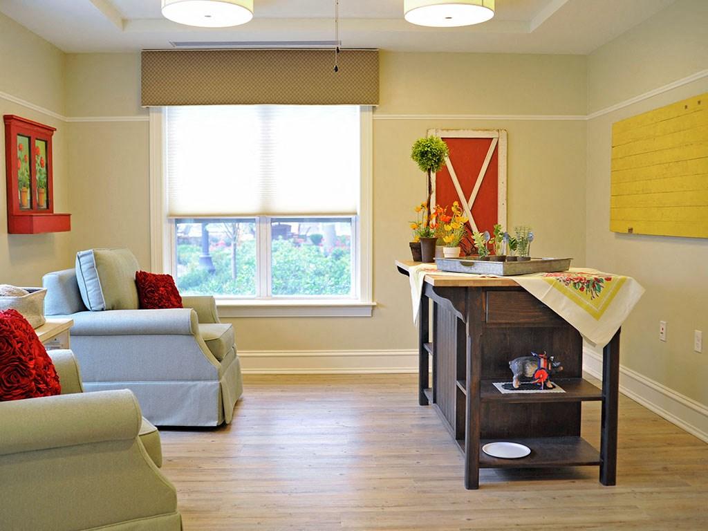 Reflections Activity Area at Rose Senior Living – Clinton Township, Michigan