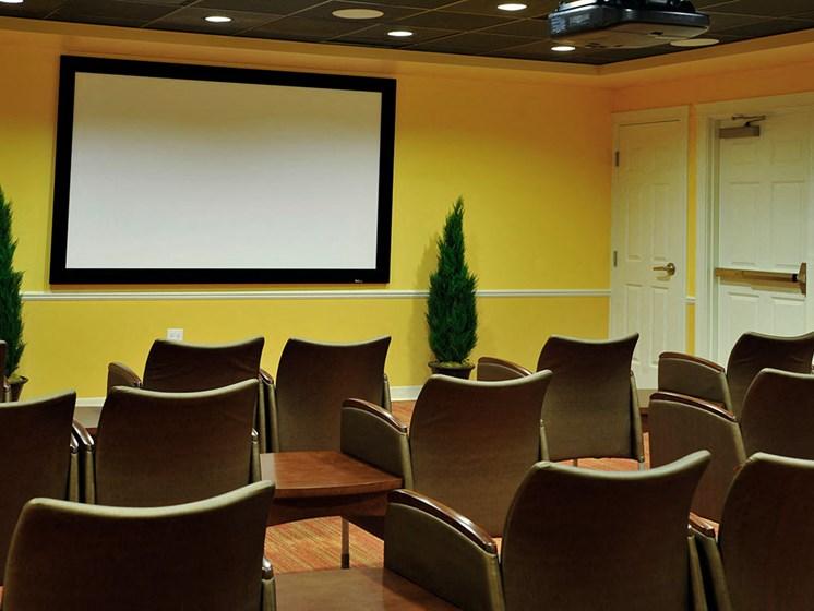 Theater at Rose Senior Living – Clinton Township, Clinton Township, MI, 48038