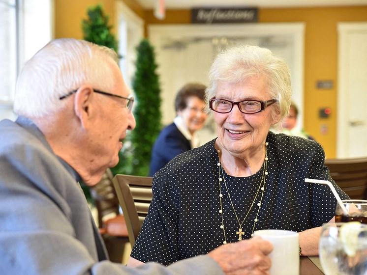 Three Dining Venues On-Site at Rose Senior Living at Providence Park, Novi, Michigan