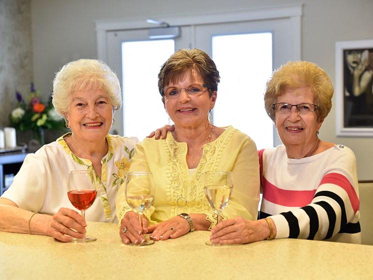 Relive Friendship at Rose Senior Living at Providence Park, Novi, MI, 48374
