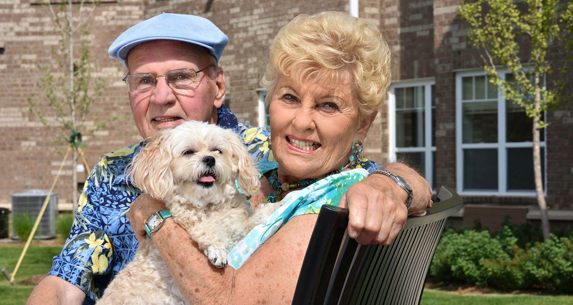 Pet Friendly Community at Rose Senior Living at Providence Park, Novi, MI