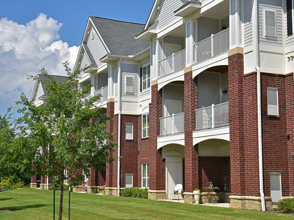 Private Balconies at Heritage at Irene Woods, Memphis, Tennessee