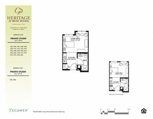 Beaumont Floor Plan at Heritage at Irene Woods, Memphis