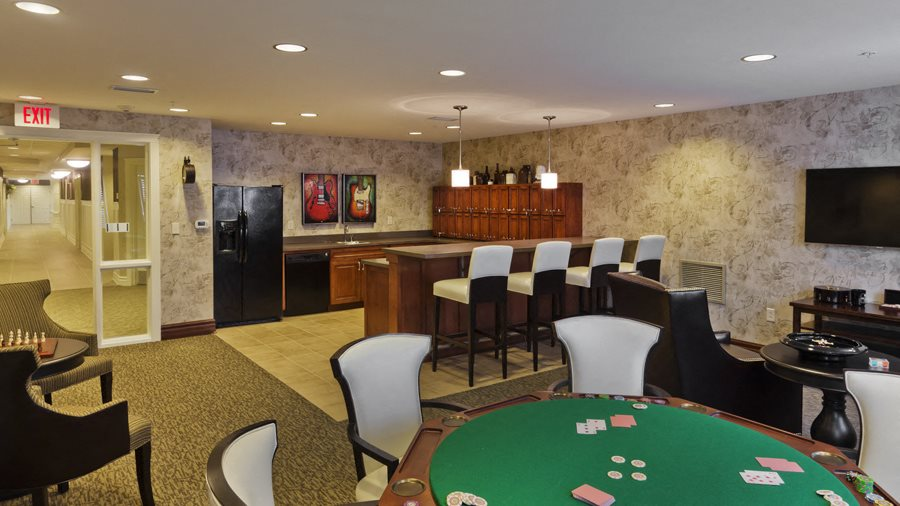 Pub And Game of Cards at Heritage at Irene Woods, Memphis, Tennessee
