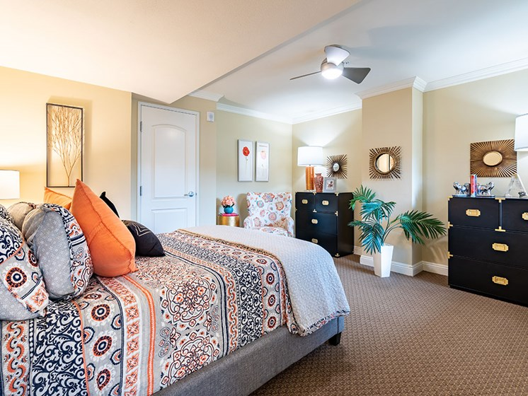 Gorgeous Bedroom at Hollywood Hills, A Pacifica Senior Living Community, California