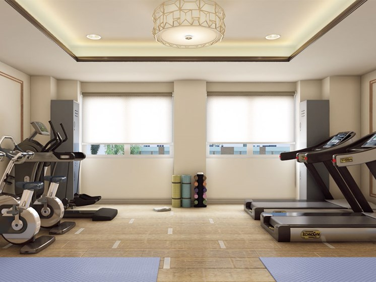 Fitness Center of Hollywood Hills, A Pacifica Senior Living Community in Hollywood, CA 90028