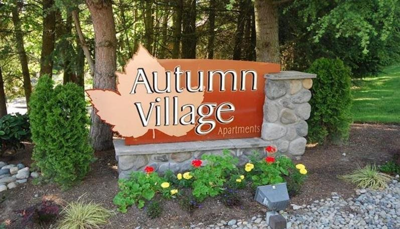 Milton Apartments - Autumn Village Apartments - Sign