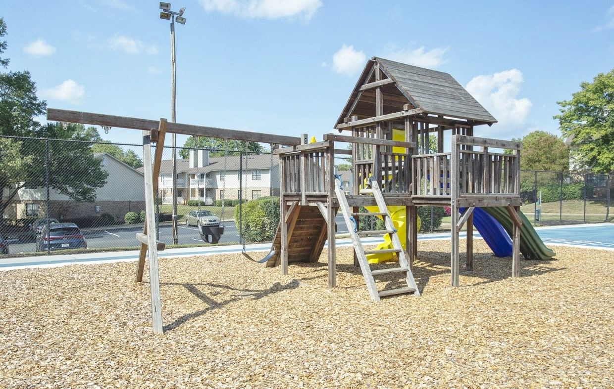 Playground at Chimneys of Greenville apartment homes in Taylors, SC