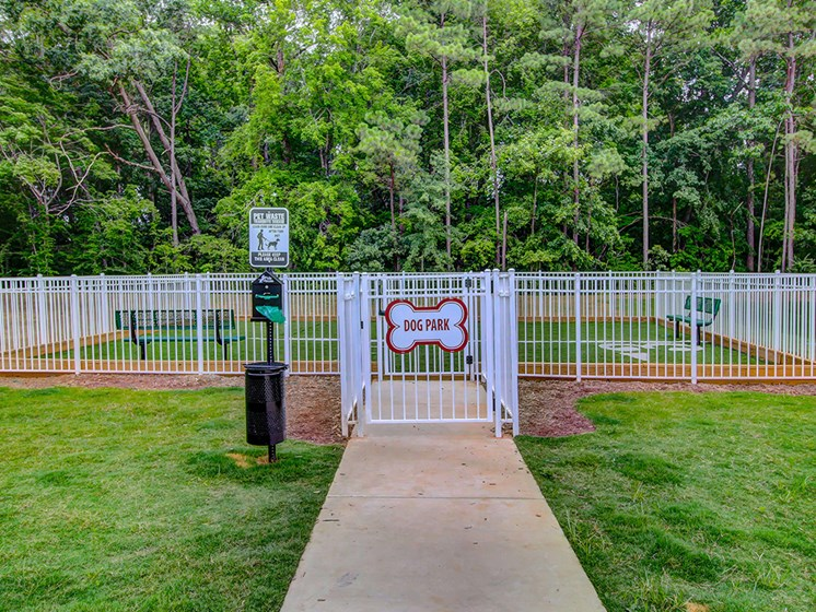 Village at McCullers Walk apartments Raleigh dog park