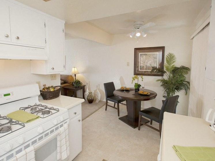 Partial View of Kitchen and Dining Area - Fairway Estates