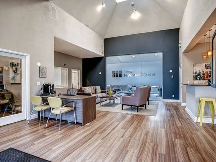 large community space in lakewood apartments