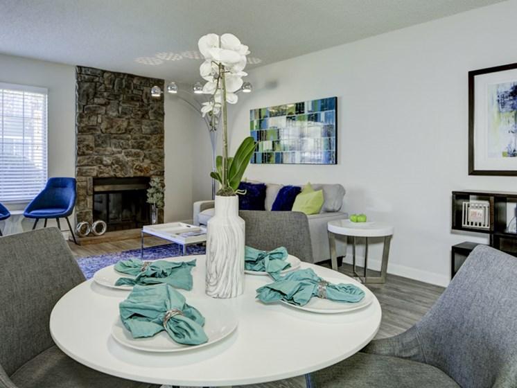 contemporary interior view of apartment unit in lakewood colorado