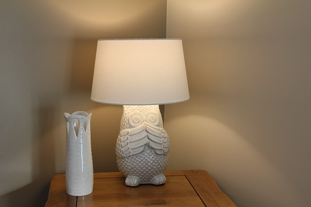 Lamp on a timer