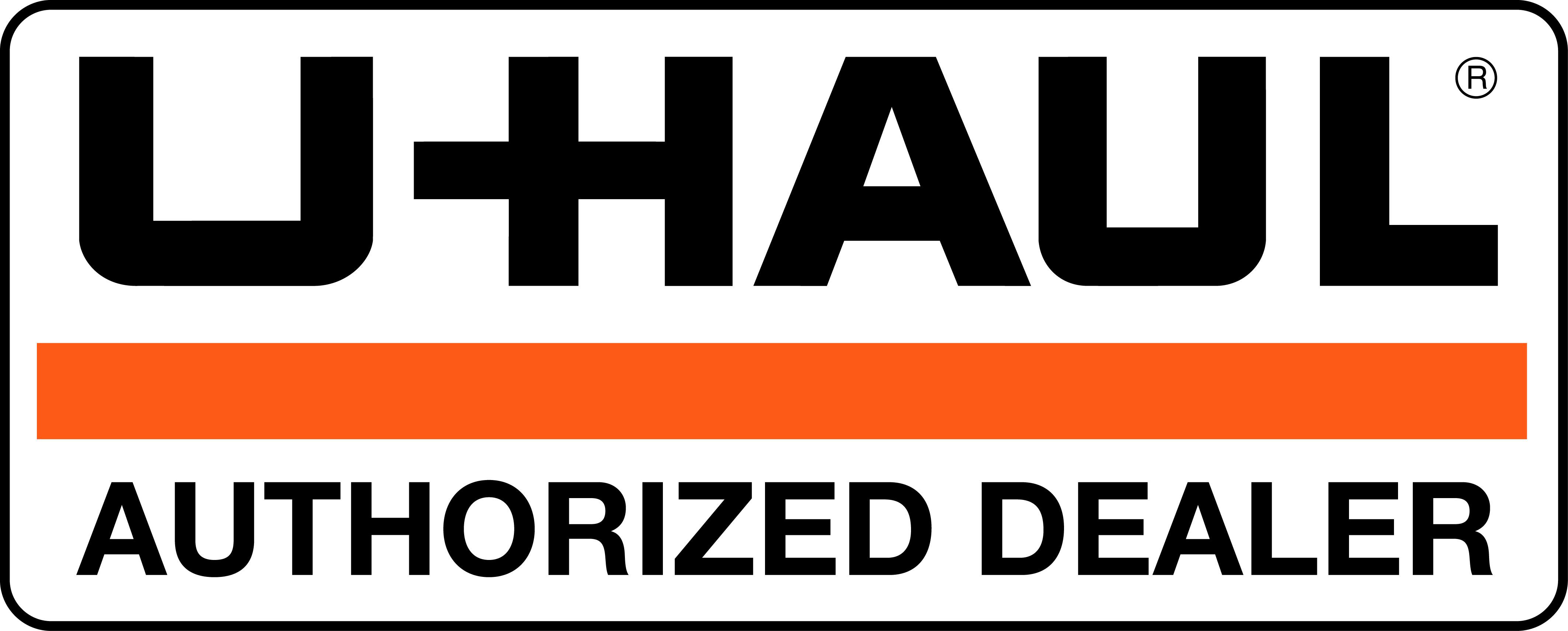 U-Haul Authorized Dealer logo
