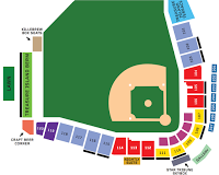 2016 CHS Field Ballpark Map