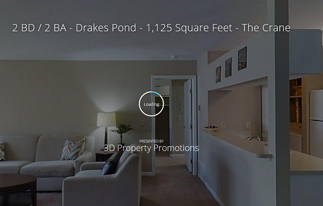 3D Tour of Drakes Pond Apartments